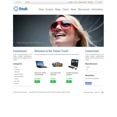 Picture of Theme 'Fresh'