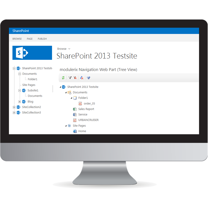 Picture of SharePoint Navigation Tools